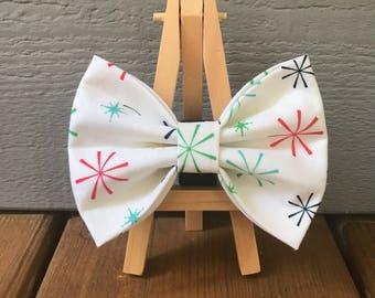 NEW! Winter Dog Bow Tie