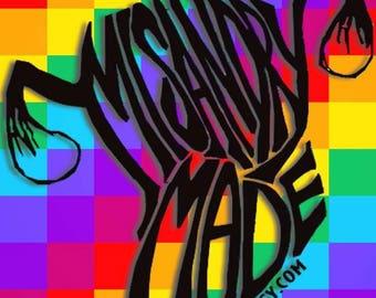 Misandry Made Sticker 2