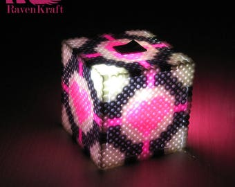 Portal Night Light - Lamp (Companion Cube)