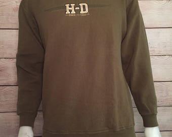Rare Vintage Harley Davidson Crewneck Sweatshirt H-D