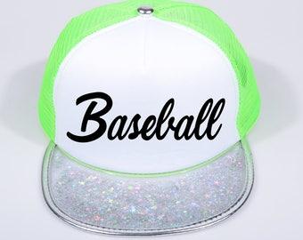 Baseball Hat, school team hat, back to school hat