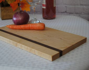 CB01 - Custom-Made Cutting Board 8x13 Maple