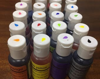 Chefmaster Airbrush Colors 0.64 oz