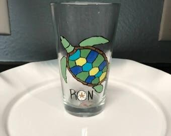 Turtle wine glass or beer mug