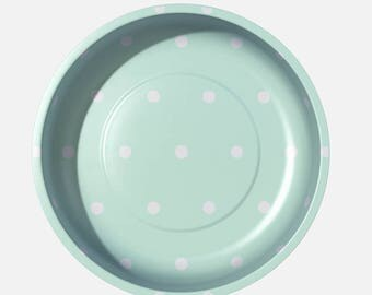 Magnetic Pin Bowl (Mint Dot) - Pleasant home for Riley Blake