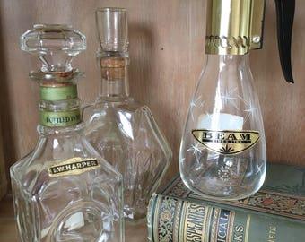 Vintage Bourbon Decanter