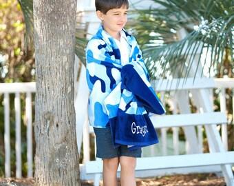 Monogrammed Beach Towel , Personalized Beach Towel