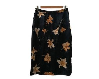 Floral skirt//vintage clothing//vintage skirt//Calamity vintage//90s//retro look//floral pattern//trendy//vintage look
