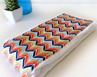 Mini Chevron multi color Burp Cloth -    Burp Cloth - Cloth Diaper Burp Cloth - Baby Essential - Baby Shower Gift