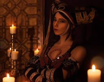 Witcher cosplay, witcher costume, Sorceress, Sheala de Tancarville,  Sile de Tansarville, Cosplay costume, Witcher 2, Witch, Witcher 3