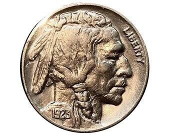 1923 P Buffalo Nickel - Choice BU / MS / UNC