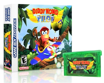 Diddy Kong Pilot Racing w/ Case GBA Unreleased / Cancelled Game Boy Advance (US)