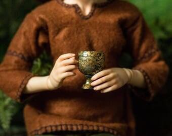 BJD Gold-Leaf Goblets