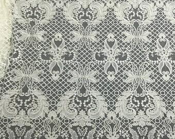 2018 New Design, France Lace, Bridal lace, dress lace, Mesh lace fabric, Guipure Lace,Wedding Lace, Embroidery lace Evening dress lace
