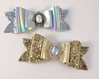 Jumbo sparkle bow