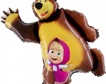 "Masha and the Bear Jumbo Foil Balloon 32 ""/ 82 cm"
