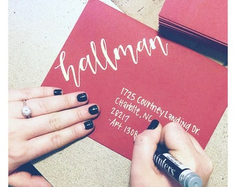 Address Envelopes | Calligraphy