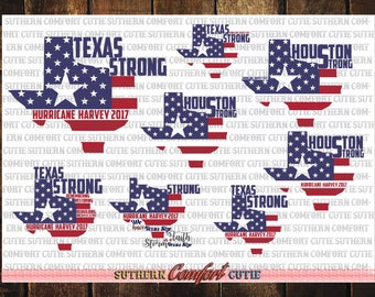 Texas Strong SVG bundle pack, texas relief, harvey relief svg, harvey svg, harvey, harvey, texas strong svg, texas, houston strong svg, svg