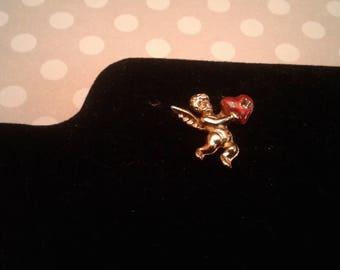 Angel Heart Vintage Tie Tack/Lapel Pin