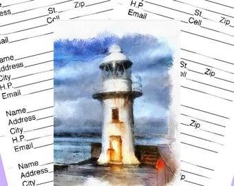 Address Book Lighthouse