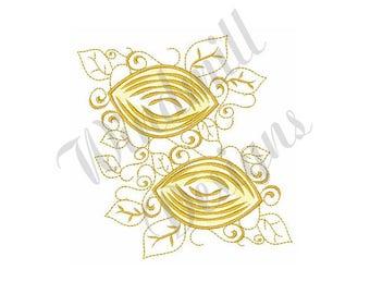 Lemons - Machine Embroidery Design