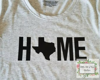 Texas Home shirt