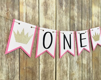 One Highchair Banner, Where The Wild Things Are Inspired Banner, First Birthday, Photo Prop, Wild One Banner