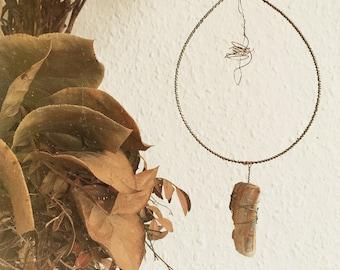 Dreamcatcher // golden wire
