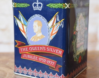 The Queen's Silver Jubilee 1977 Tin