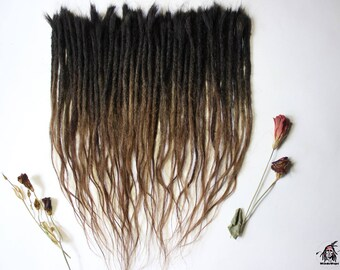 Human hair extensions Dreadlock 30-40cm(11,5-15,5inch)