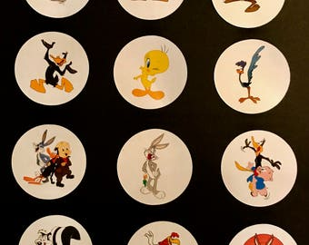 Precut Edible Looney Tunes characters to decorate your cupcakes, cookies or cake with.