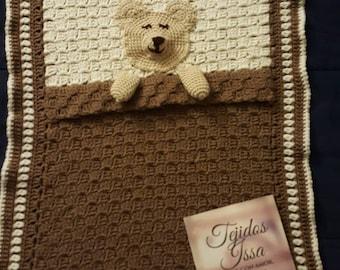 Sleepy Teddy bear blanket