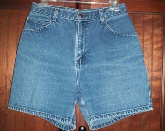Vintage 80s/90s Gitano Jeans High Waist, Medium Wash Denim Shorts, Size 11/12, Mom Denim, Mom Shorts,
