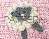 Crochet Lamb Applique Pattern//Crochet Applique//Crochet Pattern//Lamb Applique//Crochet Lamb