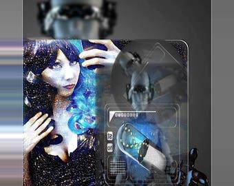 Krystal Void CyberXscape printed poster art