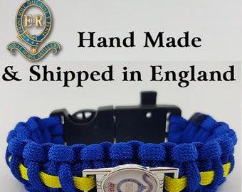 The Royal Horse Artillery (RHA) - Paracord Bracelet Wristband Great Gift