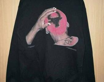 Rare!! Vintage 1996 Dennis Rodman Big Print Spellout Pullover Jumper Sweatshirt