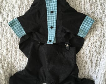Dudelicious Tuxedo -JACKET ONLY - Made to Order- One of a Kind Piece (full tux is separate listing)