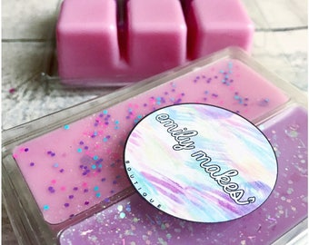 Parma Violet & Snow Fairy (Lush Inspired) Scented Soy Wax Double Clamshell Melt For Wax Warmers / Gift