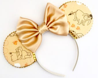 The Silly Old Bear - Handmade Mouse Ears Headband