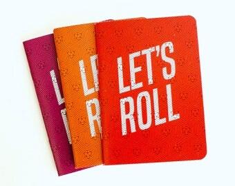 """Let's Roll Pocket Sketchbooks - Set of 3 (3.875"""" x 5.5"""")"""