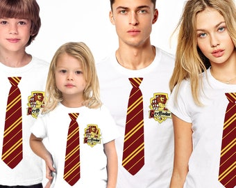Harry Potter family shirts, Harry Potter Shirt, Gryffindor shirt, Gryffindor family shirts, Harry Potter uniform, Harry Potter outfit