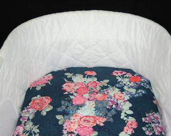 Bassinet Sheet - Nici Flora Oceanon - Moses basket sheet