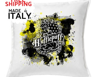 FREE SHIPPING! Hufflepuff pillowcase, Hufflepuff cushions, Hufflepuff home decor,
