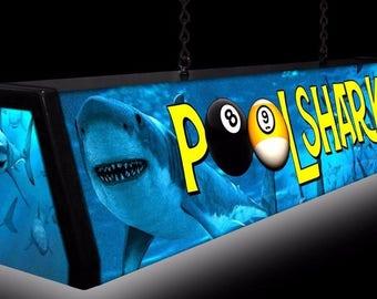 POOL SHARKS, Pool Table Light Billiards Billiard Table