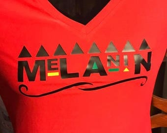 Melanin Fitted Tee