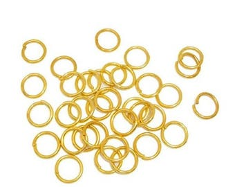 30 gold 10 mm open ring