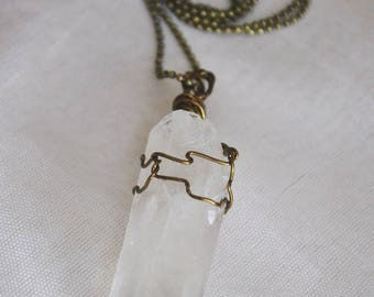 Quartz Crystal Wrap