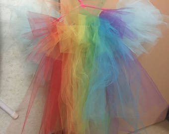 Rainbow Dash inspired tutu for young girls