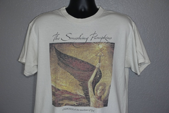 RARE Smashing Pumpkins - Machina The Sacred and Profane Tour Double-Sided Vintage Concert T-Shirt